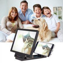 Mobiltelefon kijelző nagyító - Könnyedén kinagyíthatod vele mobilod kijelzőjét, Film és videó nézéshez!