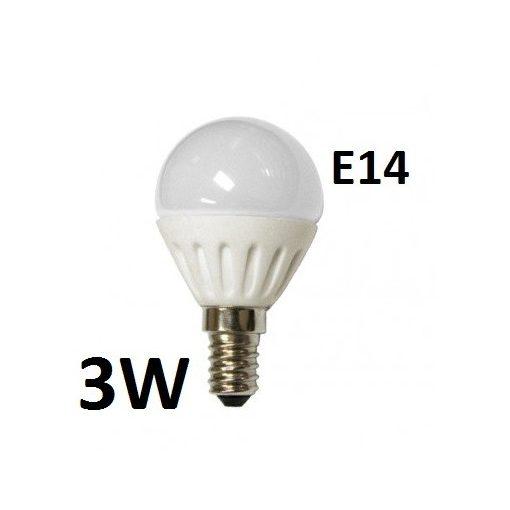 3W - hagyományos - E14 - HF - sima