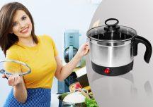 Elektromos főzőedény - Készítsd el kedvenc ételedet tűzhely használata nélkül!
