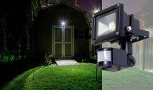 30W MOZGÁSÉRZÉKELŐS REFLEKTOR - Energiatakarékos LED technológiával!