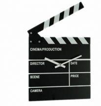 Film csapó tábla óra