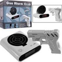 Gun Alarm Clock lelőhető ébresztőóra - Ébredj minden nap vidáman!