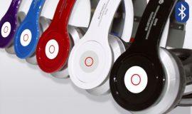 Összecsukható Prémium Bluetooth sztereó fejhallgató - Fehér színben!