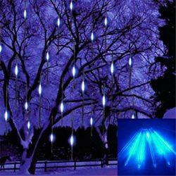 Hangulatos ünnepi Meteor LED dekorációs lámpa - Kül és beltérre egyaránt!