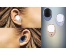 Smart Bluetooth headset Arany