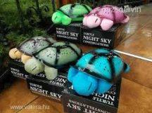 Világító teknős (vegyes színekben)