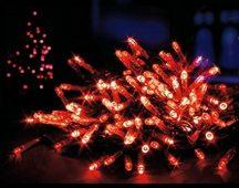 500 LED-es karácsonyi világítás (220) Piros
