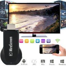 AnyCast, Mirascreen TV Okosító Adapter - Csak dugd be a TV-be és máris kész az Okos TV!