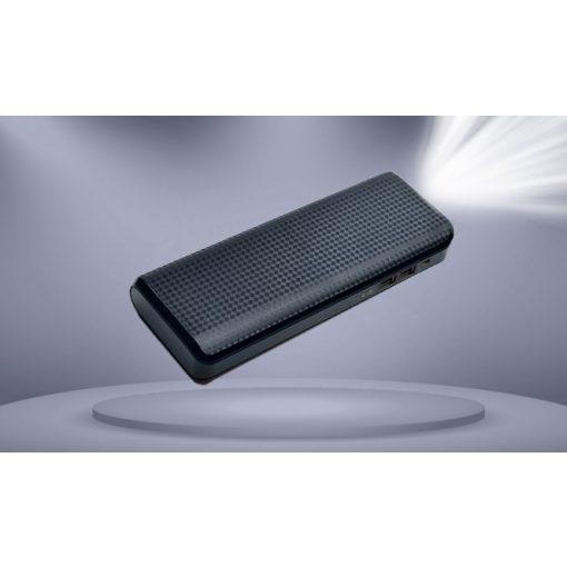 Powerbank Black 20000mah LED