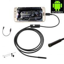 Vízálló 5m-es Endoszkóp Kamera Androidos készülékekhez - A nehezen hozzáférhető helyek vizsgálatához!