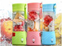 SHAKER JUICER 3 Vidám színekben - Akkus Shaker és Juice készítő!