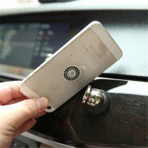 Mágneses autós telefontartó (Fekete)