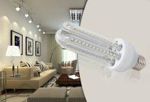 20W-os LUX LED izzó E27 foglalattal - 20W - U - E27 - MF