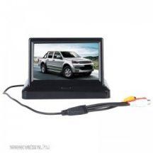 4.3 kinyitható autós TFT monitor!
