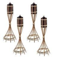 Bambuszfáklya Asztali