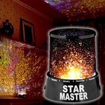 STAR MASTER LED-es Csillagkivetítő - Hangulatos, Csillagos égbolt a gyerek, vagy hálószobába!