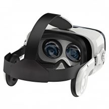 VR BOX fejhallgatóval