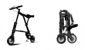 Összecsukható kerékpár (Ezüst)