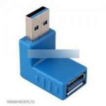 USB 3.0 Derékszög adapter