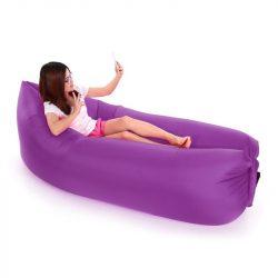 LayBad felfújható matrac Lila