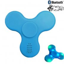 Bluetooth spinner (Led Music) kék