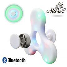 Bluetooth spinner (Led Music) fehér
