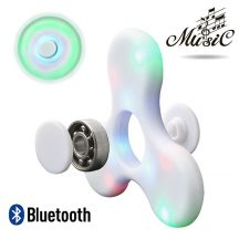 Bluetooth spinner (Led Music) fehér