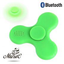 Bluetooth spinner (Led Music) zöld