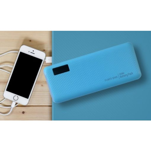 Powerbank Blue 20000mah LED