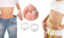 2 db Szilikon Akupunktúrás Fogyasztó gyűrű - Nagylábujjakon viselhető, Titkos Fogyasztó gyűrű!