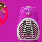 Szúnyogírtó lámpa (Piros doboz, Ventilátoros, Kutya)