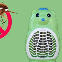 Szúnyogírtó lámpa (Piros doboz, Ventilátoros, Maci)