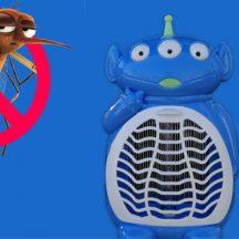 Szúnyogírtó lámpa (Piros doboz, Ventilátoros, Alien)