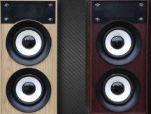 Fa Bluetooth hangszóró (Sötétbarna)