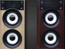 Fa Bluetooth hangszóró (Világosbarna)
