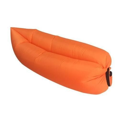 Lazy bag felfújható matrac (Lamzac) narancssárga
