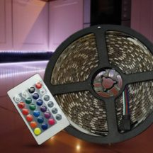 PROGRAMOZHATÓ 5 MÉTERES RGB5050 LED Szalag - Hangulattól függően választható a fény színe!