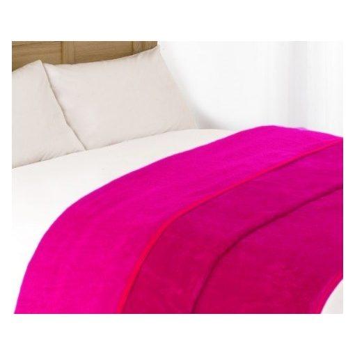 VIOLET polár pléd (200x230cm) - Rózsaszín