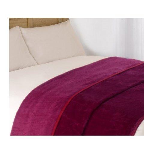 Violet polár pléd (200x230cm) - Bordó