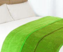 VIOLET polár pléd (200x230cm) - Zöld