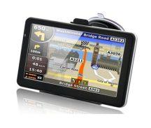 Óriás kijelzős MEDIATEK GPS Navigáció +Video lejátszó és FM transzmitter Bomba Áron! Teljes Európa térképpel!