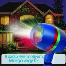 Laser Shower Motion - Mozgó lézerfény rendszer kül és beltérre!