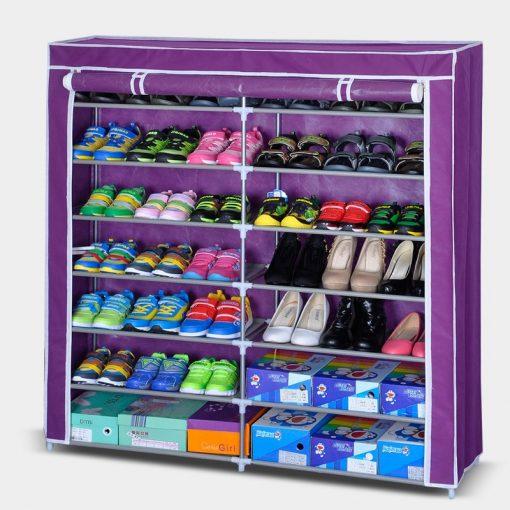 BigHome Perfect Shoes mobil cipősszekrény - 42 férőhelyes cipőtároló szekrény! - Lila
