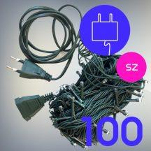 100 LED-es karácsonyi izzósor - színes (VRE-4#)