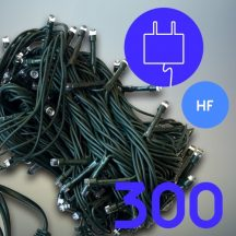 300 LED karácsonyfa izzó - hidegfehér