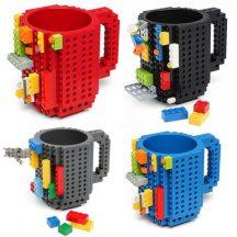 LEGO Bögre (Fekete)