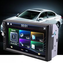 GPS Mp5 autórádió 7col 2din Bluetooth (7018G) GPS