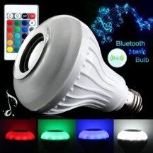 12W LED RGB hangszórós izzó