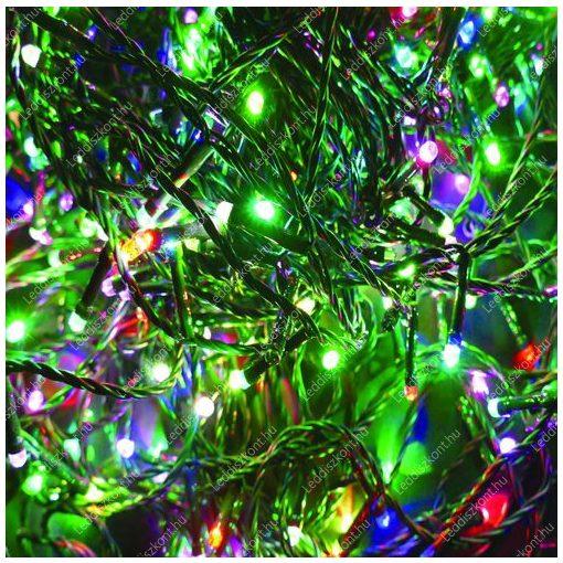500 LED-es karácsonyi izzósor - színes