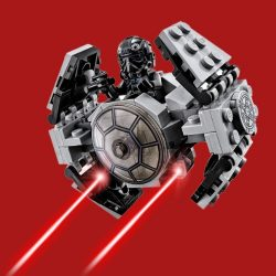Lepin Star Wnrs Microfighter (TIE Fighter)